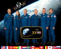 International Space Station Expedition 23 Crew Portrait #2
